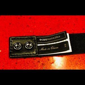 BCBGMaxAzria Accessories - BCBG MAXAZRIA Rhinestones Elastic Stretch Belt